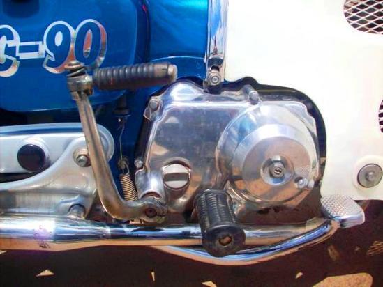 Honda C 90 motor