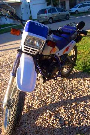 Yamaha DT 125 frontal