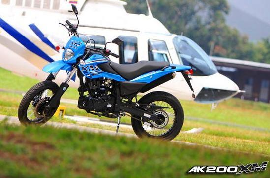 AKT AK 200 XM Tecnologia