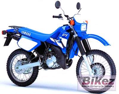 Yamaha DT 125 Azul