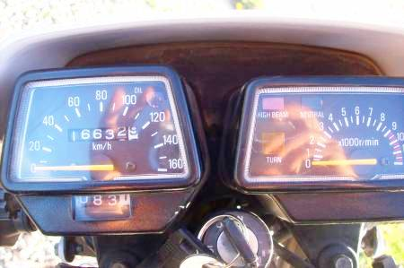 Yamaha DT 125 tablero