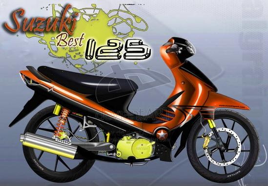 Suzuki Best 125 wallpaper