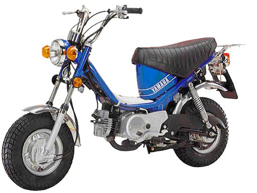 YAMAHA CHAPPY | La moto compacta