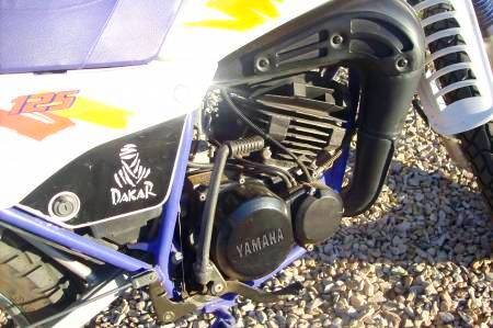 Yamaha DT 125 Motor
