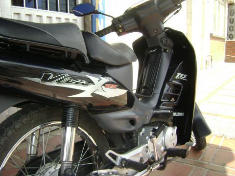 Suzuki Vivax 115 detalles en general