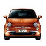 Fiat 500 Color Naranja