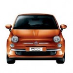 Fiat 500 Color Naranja