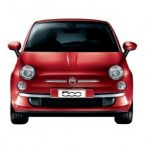 Fiat 500 Color Rojo