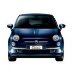 Fiat 500 Color Azul