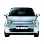 Fiat 500 Color Cian