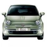 Fiat 500 Color verde