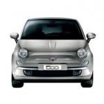 Fiat 500 Color plata