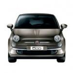Fiat 500 Color Marrón