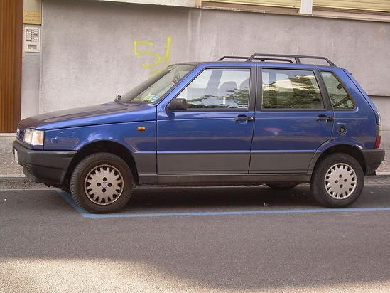 Fiat Uno brasilero