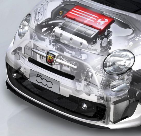 FIAT 500 Motor