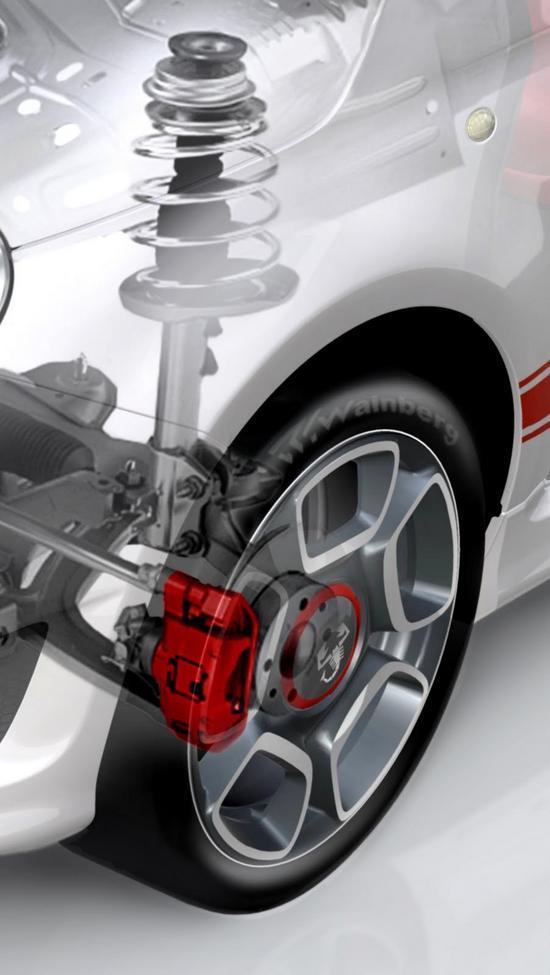 FIAT 500 suspension