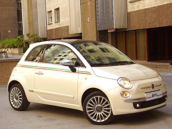 FIAT 500 tipo automóvil de turismo