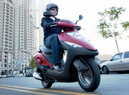 Honda Elite 125 calle