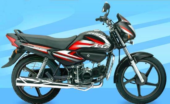 Honda Splendor NXG Negro Rojo