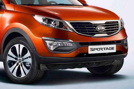 Kia Sportage 2011 diseño frontal