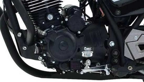 AKT AK 150 EVO motor