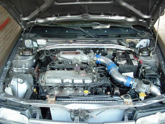 Mazda 323 Motor