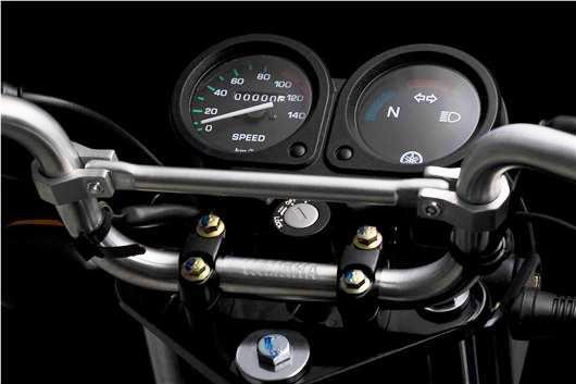 Yamaha Libero 110 Panel de control