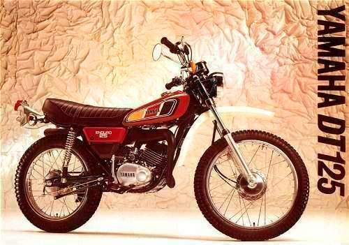 Yamaha DT 125 Roja
