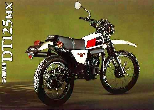 Yamaha DT 125 Blanca