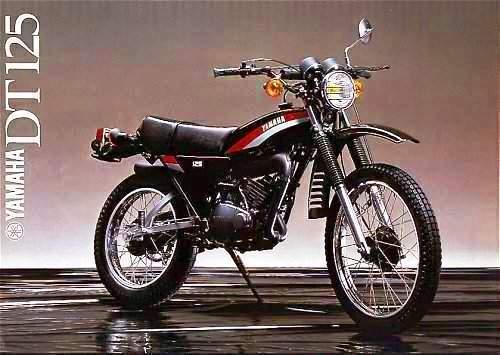 Yamaha DT 125 Negra