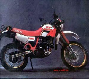 Yamaha XT 600, Admirala