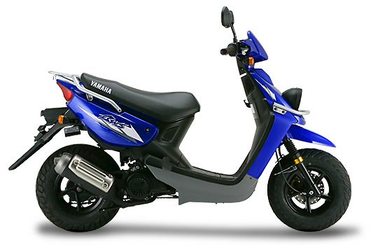 Yamaha BWS 100 azul