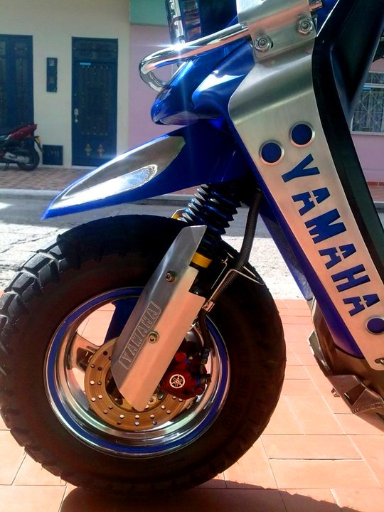 Yamaha BWS 100 frenos