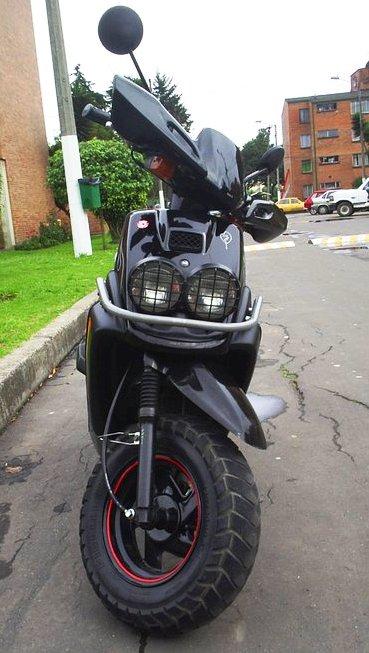 Yamaha BWS 100 frontal