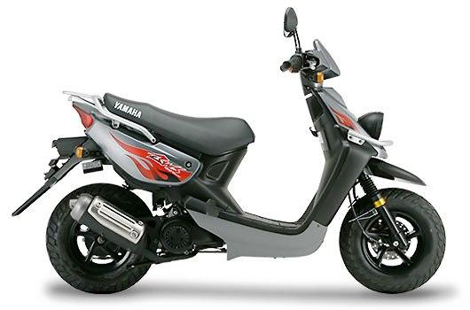 Yamaha BWS 100 gris