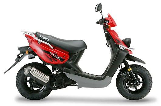 Yamaha BWS 100 rojo