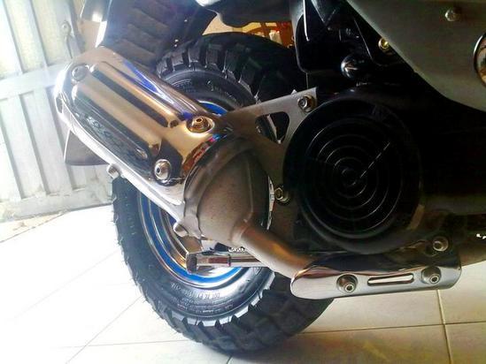 Yamaha BWS 100 tubo de escape