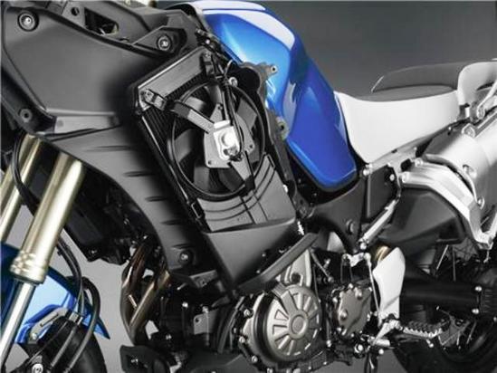 Yamaha Super Teneré detalle