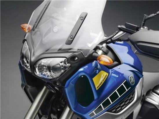 Yamaha Super Teneré detalle carenado