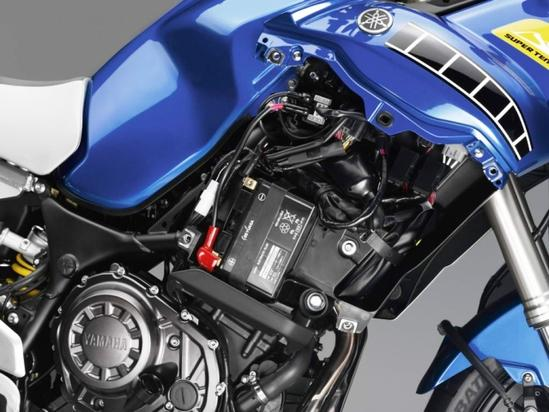 Yamaha Super Teneré motor