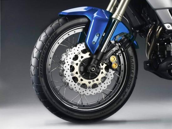 Yamaha Super Teneré sistema de frenos