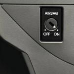 Skoda Yeti airbag con desconexion