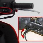 AKT AK DYNAMIC 125 Arranque electrico y por pedal