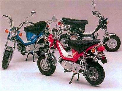 Yamaha Chappy modelos