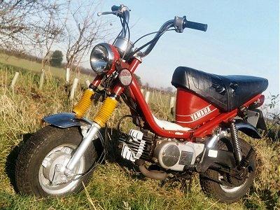 Yamaha Chappy roja