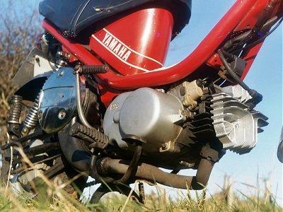 Yamaha Chappy motor