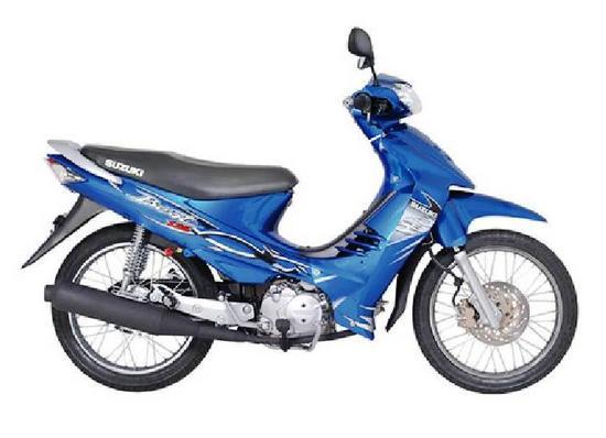 Suzuki Best 125 azul oceano
