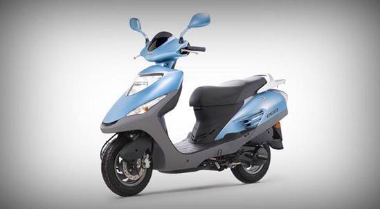 Honda Elite 125 Azul