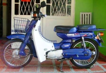 Yamaha V80 azul