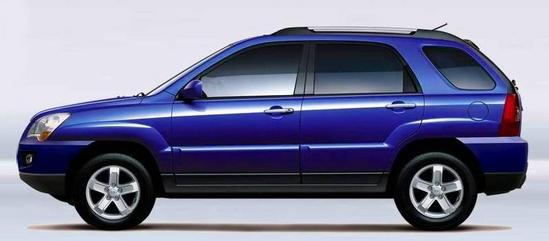 Kia Sportage 2011 Azul
